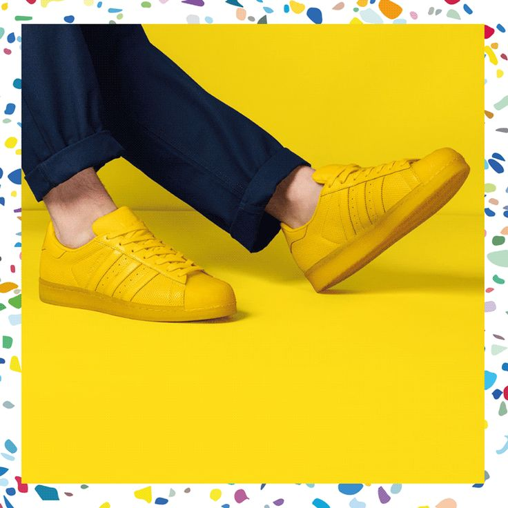 Colour me yellow. #superstar #adicolor