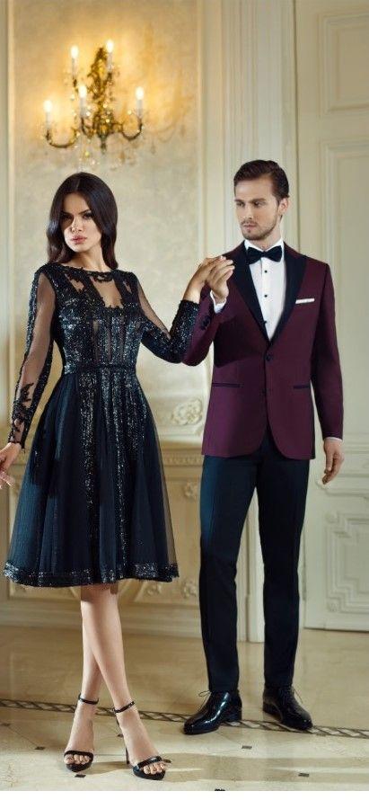 CRISTALLINI #BlackDress #Sequins #Prom #Luxury #Fashion #CocktailDress