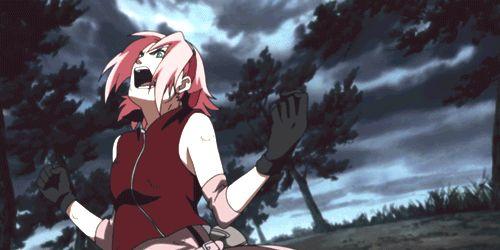 Sakura. WHOO. YOU GO GIRL.