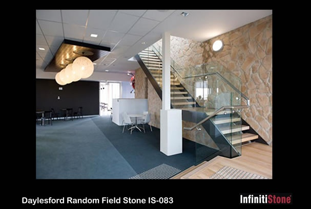 InfinitiStone® Random Field Stone 083 - Prefabricated corners available.