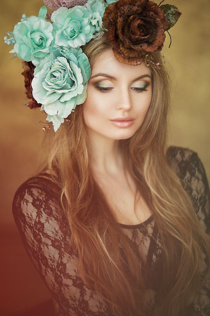 Katerina in flowers - Katerina
