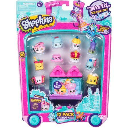 Shopkins Season 8 Europe, 12pk, Assorted