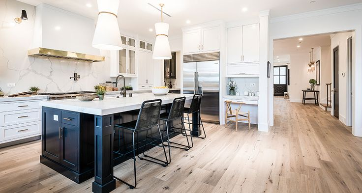 Kitchen Room Scene Calacatta Verona Quartz House Ideas