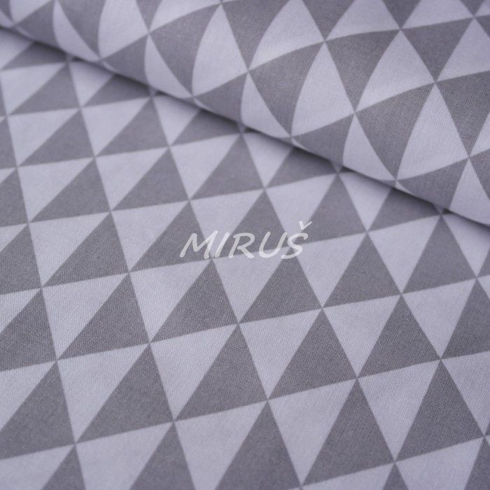 č.3194 Geo vzory šedé