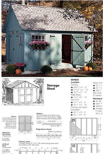 #shed #backyardshed #shedplans Ryan Shed Plans 12,000 Shed Plans and Designs For Easy Shed Building! — RyanShedPlans