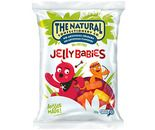 A box of 12 bags of The Natural Confectionery Company Jelly Babies.