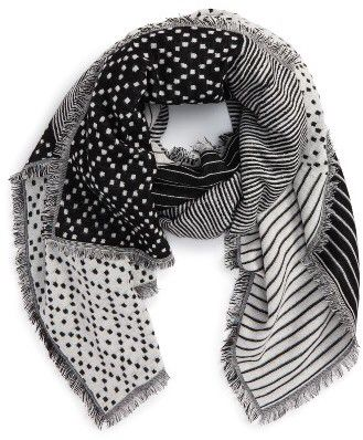 Women's Madewell Optic Patchwork Scarf