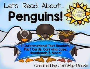 Crayons & Cuties In Kindergarten: Lets Read About Penguins!
