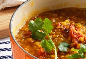 Lentils with Chia Seeds. 2  super foods in 1