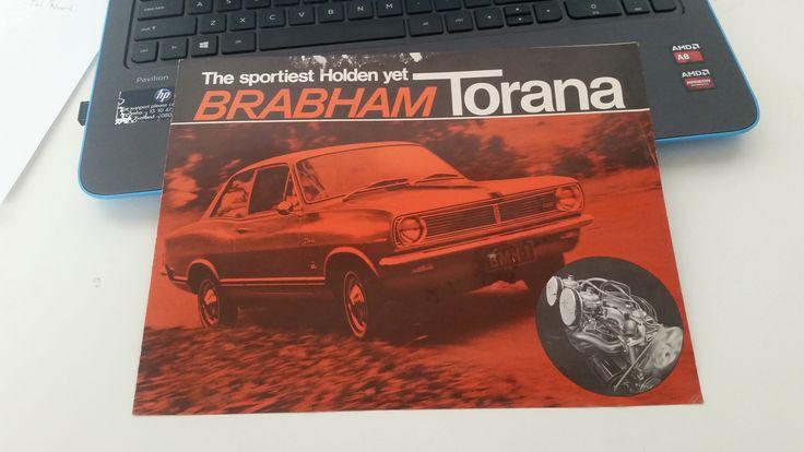 Holden HB Brabham Torana Brochure 11-1967 0.