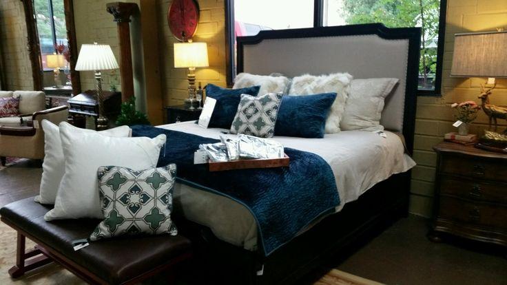Stanley Furniture - European Cottage Upholstered King Bed