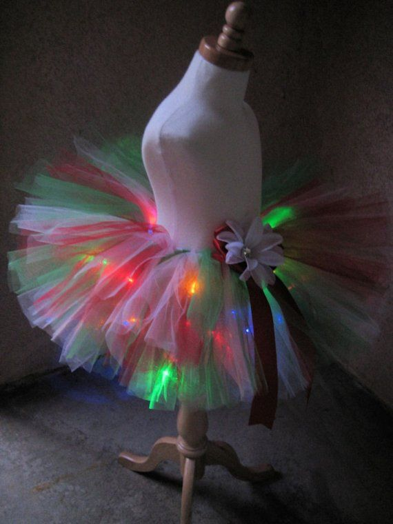 Ooh we should add lights to the twins Halloween tutus!