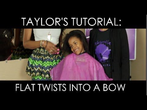 ▶ Protective Hairstyle for Little Girls - YouTube