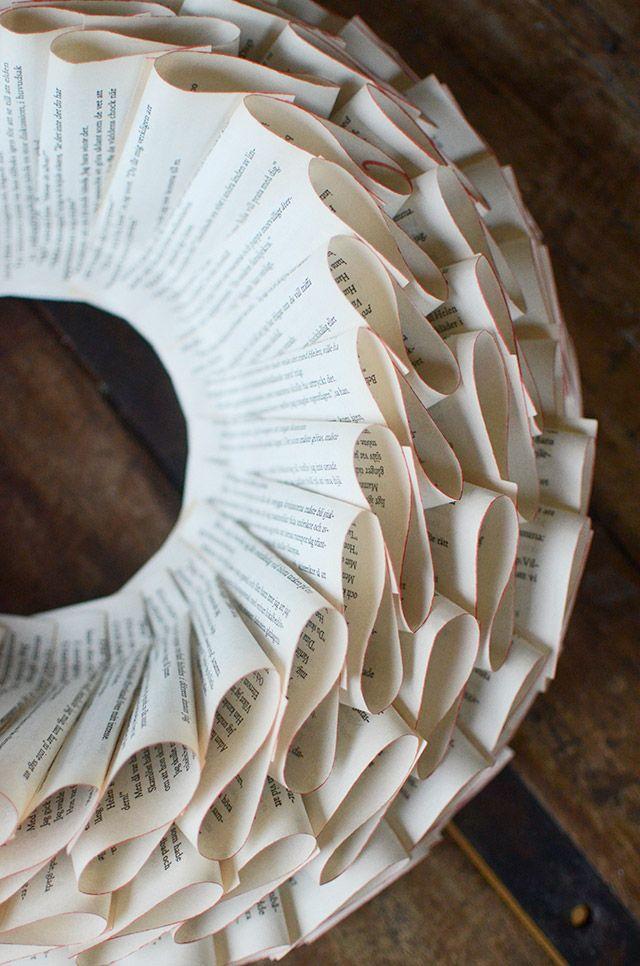 9 kreativa sätt att inreda med gamla böcker (smart med återvinning) | Sköna hem