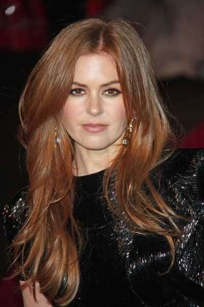 Long Layers. i kinda like her color too. i could do that color red.... maybe,.