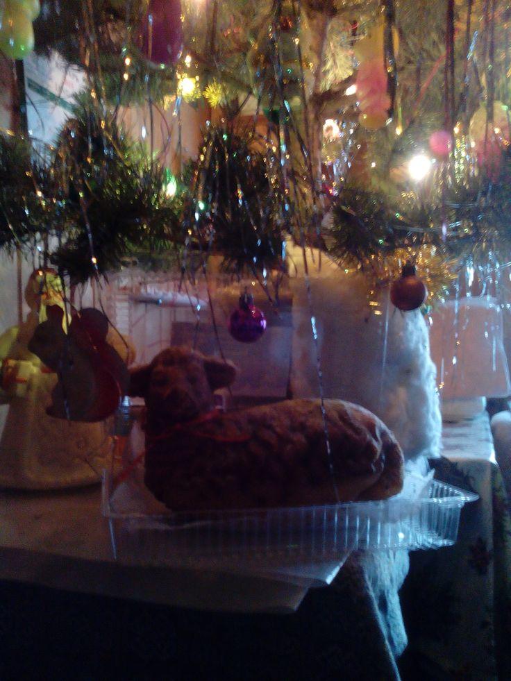 Рождественский агнец))