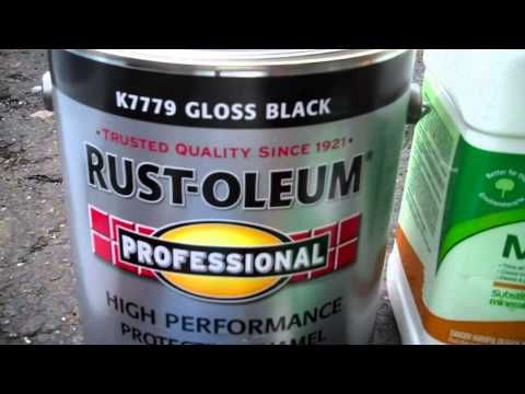 Rust-Oleum Truck Bed Coating - How to Apply - YouTube