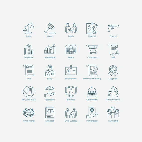 Law Icons In Vector And Png Law Icon Law Tatto Quotes
