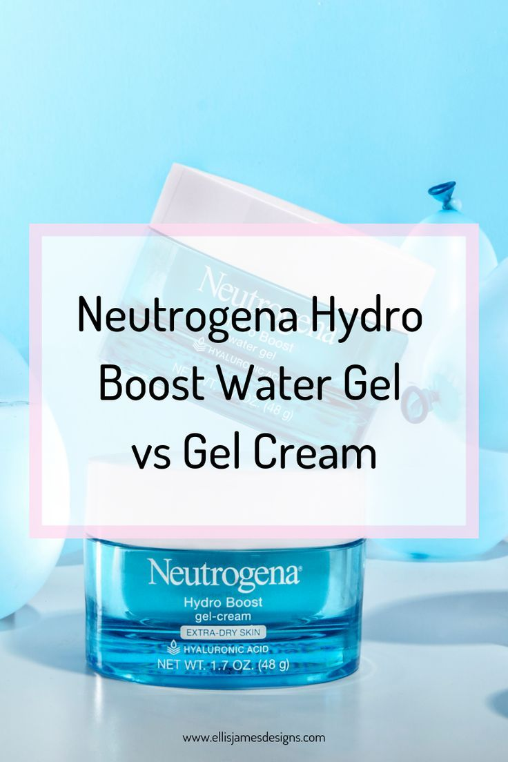 Neutrogena Hydroboost Water Gel Vs Gel Cream Review Neutrogena Hydroboost Water Gel Vs Gel Cream The Difference Gel Cream Neutrogena Hydro Boost Neutrogena