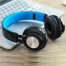 Cancelamento de ruído sem fio bluetooth fones de ouvido com microfone estéreo sem fio fone de ouvido blue tooth para iphone 6 samsung galaxy(Hong Kong)