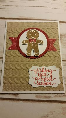 Stamp with Roberta: Sneak Peak- Cookie Cutter Christmas - Gingerbread ...