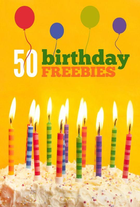 The 25 best Birthday freebies ideas on Pinterest Birthday free