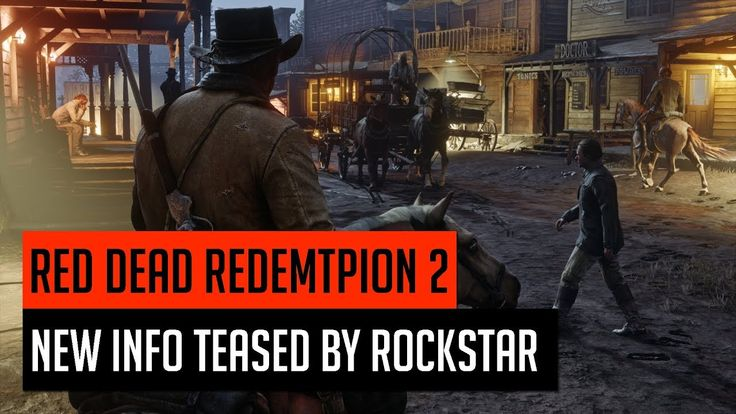 Red Dead Redemption 2 New Trailer Teased By Rockstar https://youtu.be/UF9RCNK0H3A #gamernews #gamer #gaming #games #Xbox #news #PS4