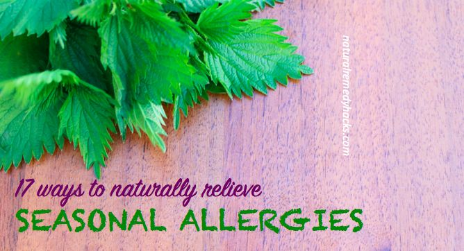 Cleaning, herbs, lemon, apple cider vinegar, onions and more.  Natural remedies for seasonal grass and pollen allergies