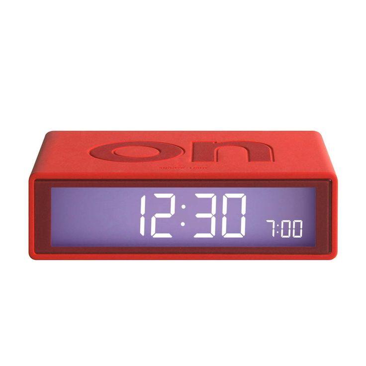 Lexon   Flip2 LCD Wecker, Rot Jetzt Bestellen Unter: Https://
