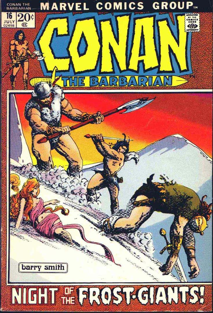 Conan 16  Barry Windsorsmith