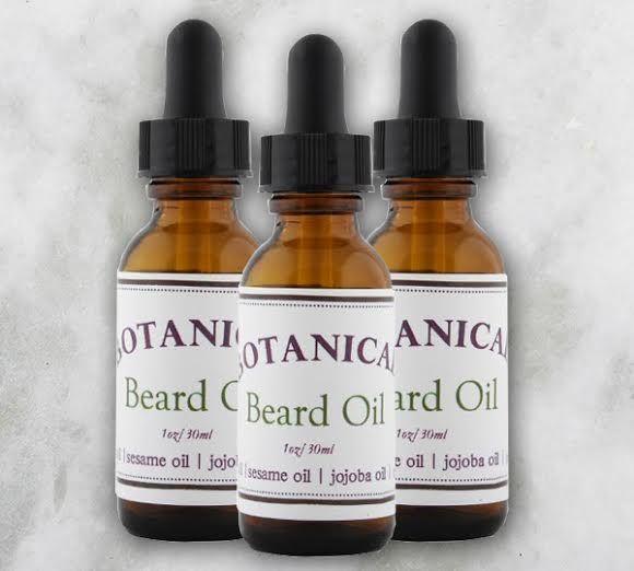 DIY Nourishing Botanical Beard Oil