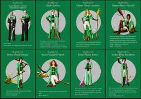 HP and Game of Thrones mashup - Slytherin team