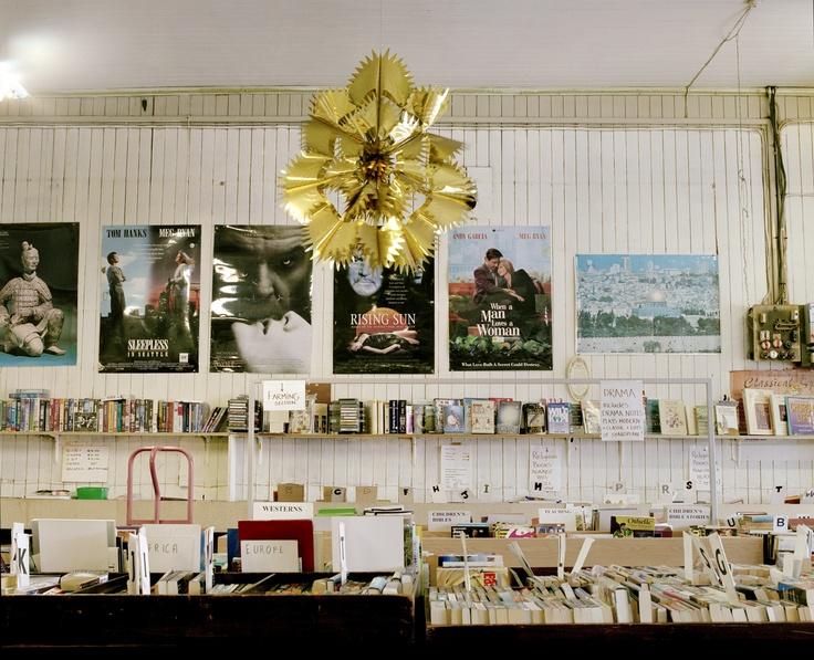 Allan McDonald, Christchurch (Charity book shop), 2009, C-type photograph mounted on diabond, Edition of 3