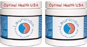 Lauricidin® 8 oz Pure Monolaurin = Double Pack = *Free U.S. Expedited Shipping* by Lauricidin®. $61.95. This pure pelletized monoglyceride is different from monolaurin capsules in that it contains no fillers, or excipients.. Lauricidin 8 oz - Double Pack (2 in the package) - Free U.S. Expedited Shipping. Lauricidin® is the only monolaurin that has been clinically tested.. Lauricidin® is a concentrated mini-pellet (~30 mg) of sn1 (3)-monolaurin. Regardless o...