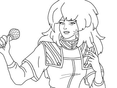 free 80s coloring pages | 33 best images about Crafty (80's Jem) Coloring on Pinterest
