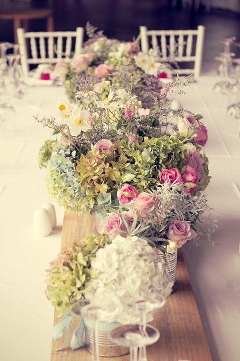 real wedding: pretty DIY vintage farm wedding {christine & james}