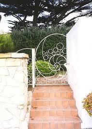 17 best images about garden gates on pinterest gardens for Nautilus garden designs