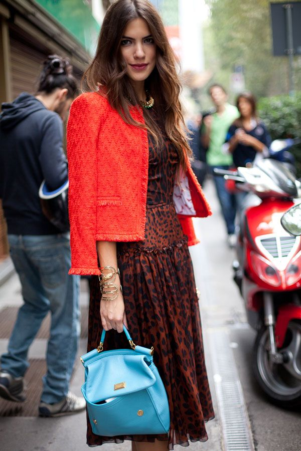 Street Style Spring 2013: Milan Fashion Week