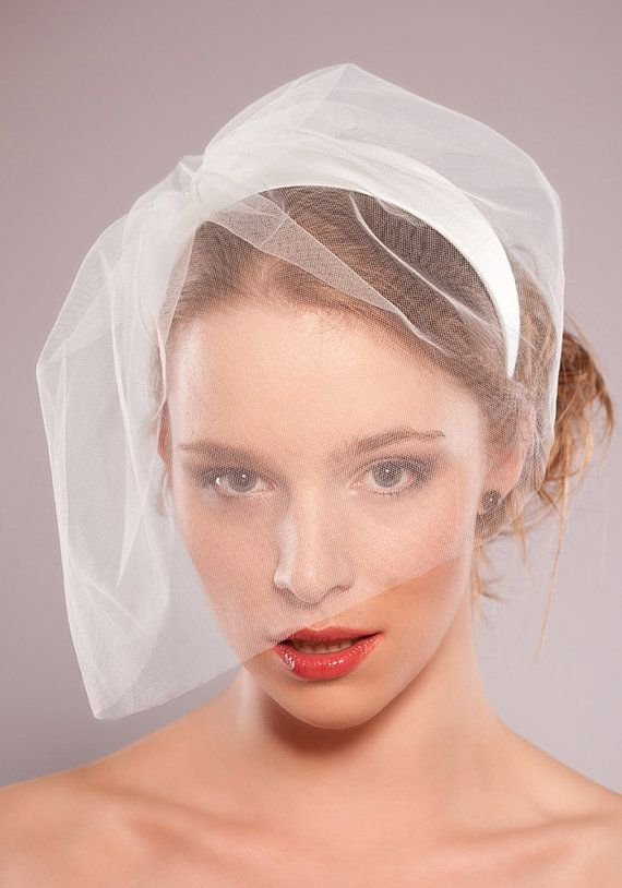 Weddings Veil Off White / Ivory Bridal Head by EllaGajewskaBRIDAL, £75.00: Off White Birdcages Veils, Head Bands, Wedding Veils, Bridal Silk, Head Pieces, Dreams Weddingi, Bridal Head, Ivory Bridal, Silk Head