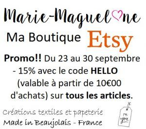 Promo d'automne !! Fall's promotion !!