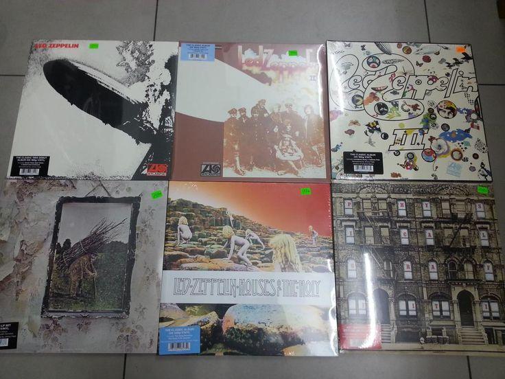 Todo Led Zeppelin en vinilos ,los esperamos en Av Benavides 477a Tiendas 106-110 Miraflores