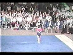 1st AA Finals Mary Lou Retton FX - 1982 Single Elimination Championships--mary lou
