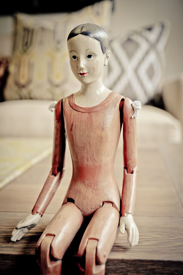 Gorgeous little doll which adds a touch of vintage to the home. www.toyblackinteriors.co.za  www.christystrever.com #photography #interiordesign #plettenbergbay #showmeplett