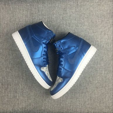 e810aa849385 Free Shipping Only 69  2017 New Air Jordan 1 Laser Blue Game Royal Grey  White