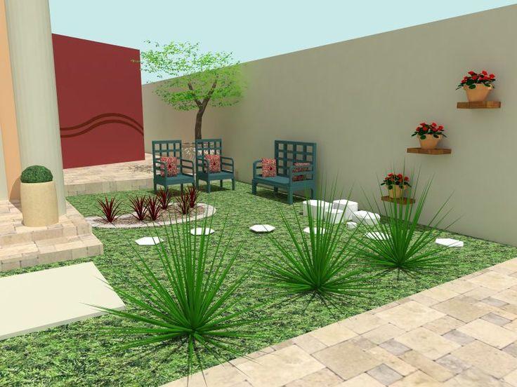 ideias sobre jardins : 25+ melhores ideias sobre Jardins residenciais no ...