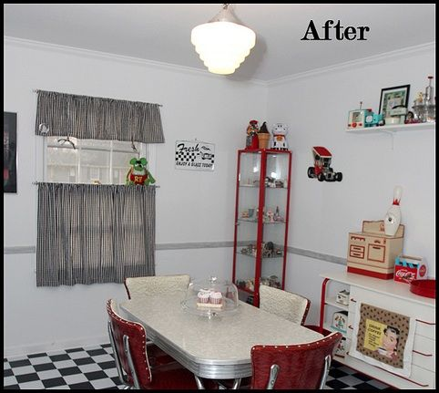 1950s Style Kitchen best 20+ 50s style kitchens ideas on pinterest | 50s decor, 50s