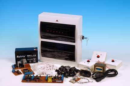 Picture of Home Built DIY Home Security Alarm System