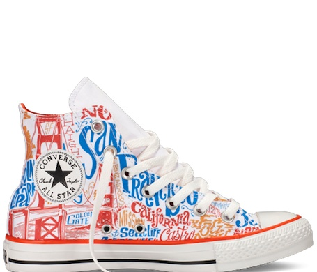 Converse introduces three San Francisco–themed Chuck Taylor ...