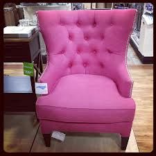 Hot Pink Tufted Chair For DIY Upholster Project