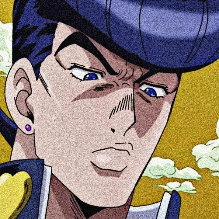 Josuke Higashikata Icons Icon Jojo S Bizarre Adventure Anime Jojo Bizzare Adventure Jojo S Bizarre Adventure